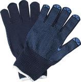 Handschuhe Isar Größe 7-10 blau EN 388 PSA-Kategorie II PROMAT