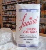 1000g Sanisal Speise-Vollsalz® Tüte