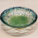 KLEINE KUGEL-BOWL mitternachtsblau, wassergrün, salomon und klar
