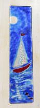AUFBRUCH Segelschiff rot
