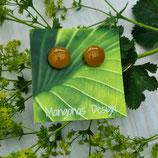 Ohrstecker ELISA maxi, amber