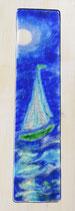AUFBRUCH Segelschiff grün