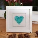WITH LOVE wasserblau