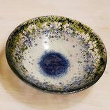 HYGGE BOWL indigoblau, grün, klar, hellblau, weiß