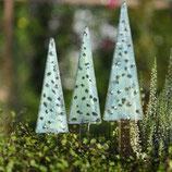 Baum im SCANDI STYLE für den Minigarten - mint mit blass-grün