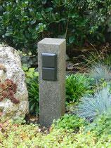 Granit anthrazit, geflammt und veredelt