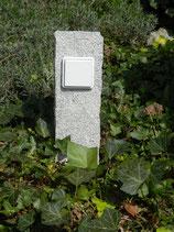 Granite palisade with simple socket