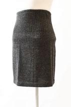 Schlichter Wollrock / Rock aus 100 % Alpaka-Wolle