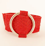 Miss Rough Ring (python red)