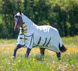 Higlander Plus sweet itch combo (9321) Paard wit/ blauw