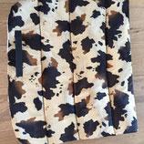 Dressuur zadeldek koeienprint