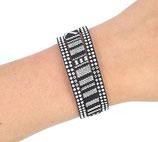 Bracelet tons noir