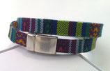 Bracelet ethnique tons bleu
