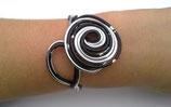 """A PERSONNALISER Bracelet """"réglisse"""" en fil aluminium"""