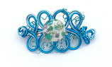 Barrette fil aluminium bleu