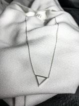 Heart To Get Silberkette Dreieck