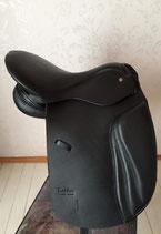 Flexible Master III, 17,5 inch zwart  semi boomloos zadel