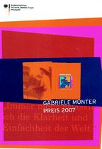 GABRIELE MÜNTER PREIS 2007   (2007)
