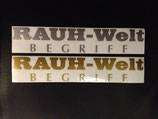 RAUH-Welt sticker set