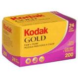 Pellicule KODAK GOLD 24 poses - 200 ISO