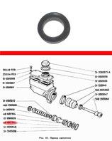 Kolbendichtung Hauptbremszylinder HBZ GAZ 71, neu. Piston seal brake master cylinder GAS 71, new. Манжета уплотнительная главного тормозного цилиндра ГТЦ ГАЗ 71, новая.