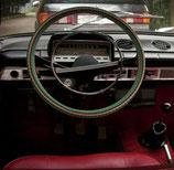Universal Abdeckung  Lenkrad geflochten UdSSR GAZ 24 Wolga. Steering wheel cover braid USSR for GAZ 24 Volga. Чехол оплетка (вязанка, кожух) на руль универсальная СССР для ГАЗ 24 Волга.