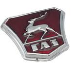 13-8401388 Emblem Motorhaube GAZ 21 Wolga. Front Bonnet Badge GAS 21 Volga. Накладка заводского знака ГАЗ 21 Волга.