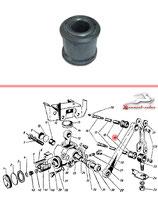 GAZ 12 ZIM Stoßdämpfergummis 4 Stück. Shock absorber rubber, GAS 12 SIM, 4 pcs, new. Втулка рычага и проушины стойки амортизатора задней подвески резиновая, новая, ГАЗ 12 ЗИМ, комплект 4 штуки.