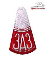 Emblem Motorhaube ZAZ 965, Sapo, Zaporozhets, Zaporozhetz, neu.  Hood emblem SAS 965, new. Заводской знак ЗАЗ 965 Горбатый, Запорожец, Запор, новая. 1963-1966