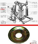 Teller für Dämpfungsring Stabilisatorstütze RAF 2203, neu. Satz 8 Stck. Plate for damping ring for stabilizer RAF 2203. Чашка подушки стойки стабилизатора РАФ 2203. Комплект 8 шт., новые.