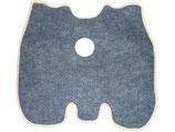 24-5109050-А  Teppich Fussmatte GAZ 24 Волга.  Carpet Floor Mat GAS 24 Volga.  Коврик кожуха пола ГАЗ 24 Волга.