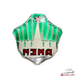 Motorhaube Emblem Moskwitsch Grün, neu. Hood emblem Moskwich M402, M403, M407, new. green Эмблема капота Москвич М402, М403, М407, Новая. Зелёная.