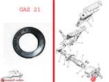 Dichtung Kofferraumschloss Knopf GAZ 21 Wolga. Gasket trunk lock button GAZ 21 Volga.  Прокладка корпуса кнопки замка багажника ГАЗ 21 Волга.