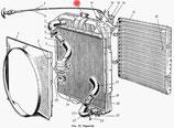 Kühlerdeckel chrom GAZ 52, GAZ 53. Radiator cap chrome GAZ 52, GAZ 53. Пробка радиатора хромированная ГАЗ 52, ГАЗ 53.