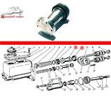 Kolben für Hauptbremszylinder HBZ GAZ 66, neu. Piston for brake master cylinder GAS 66, new. Поршень главного цилиндра тормоза в сборе ГАЗ 66, новый.