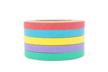 Washi Tape 5er Set SLIM BUNT