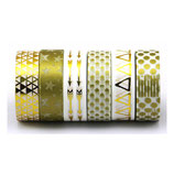 Washi Tape GOLD 6er SET