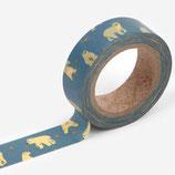 Dailylike Masking Tape FRIENDLY BEAR