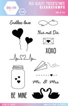Clear Stamps LOVE by kioArts