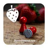 Ministempel Erdbeere