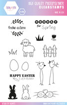 Clear Stamps EASTER by kioArts