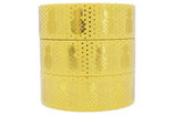 Washi Tape FOIL GOLD ANANAS GELB