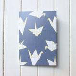 Sparrow + Wolf Notizheft A5 Cranes