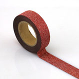 Washi Tape GLITTER ROT