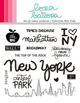 Clear Stamps Set LORABAILORA New York