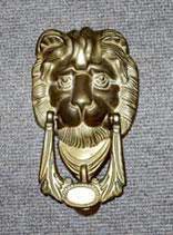 ドアノッカー  ライオン KN 195