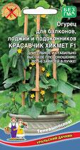 Огурец для балконов, лоджий и подоконников КРАСАВЧИК ХИКМЕТ F1