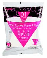 Hario V60 01 (100Stk.) Papierfilter