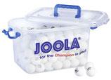 Joola Trainingsbälle, Balleimer Magic 40+, weiß/orange/144 Stück