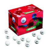 Joola Trainingsbälle, Schachtel Magic 40+, weiß/orange/100 Stück
